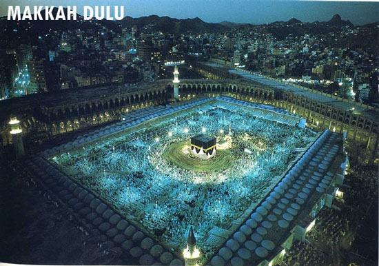 ... bangunan-bangunan yang bakal muncul dan didirikan di Mekah ini