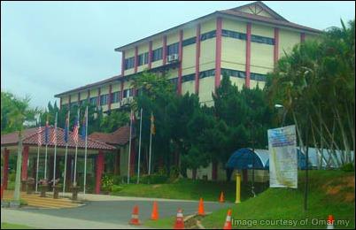 Ibupejabat UiTM Johor, aku rasa la.. tak berapa clear sebab amik dari jauh :(